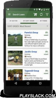 Kiva Search  Android App - playslack.com ,  Kiva Search lets you see your Kiva account balance and search for the latest Kiva microfinance loans.NOTE: If you have not heard of Kiva, please visit www.kiva.org before downloading this app.This app helps you lend money, you cannot borrow any money using this app.Support the app and Join our Kiva campaign today! https://www.kiva.org/campaign/3969SEARCH KIVA MICROFINANCE LOANS:* By Country* By Partner* By Sector* By Sort Order* By ThemeSet which…