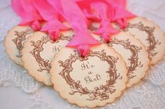 It's a Girl Tags Baby Shower Favor Gift by SeasonalDelightsBaby, $11.00