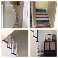 staircase before after