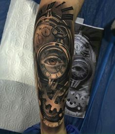 Vision of time - Tatto