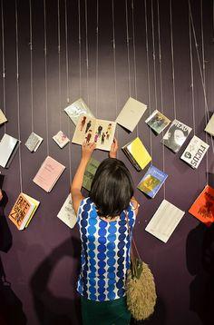 Yu Yasutake Hanging Zines  #zines #zinsters #DIY #indie