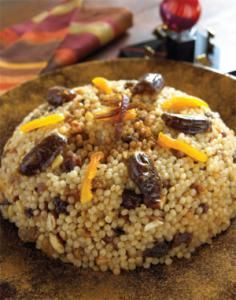 Moroccan Sweet Couscous with Mixed Dried Fruits | Reform Judaism