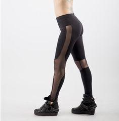 Black Leggings, Sexy Le G Gings, Burningman Clothing, Sheer Leggings, Mesh
