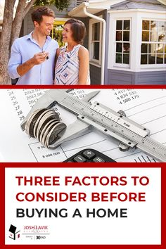 Deciding whether you're ready to buy a home is a big question and one that can sometimes be a bit overwhelming. Check out these three important factors to consider before taking any big steps toward homeownership. Private Mortgage Insurance, Home Insurance, Financial Position, Student Loan Debt, Mortgage Payment, Perfect Sense, Young Professional, Car Loans, Home Ownership