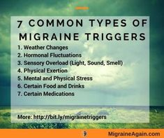 Want Migraine Relief? Check The 7 Biggest Triggers First