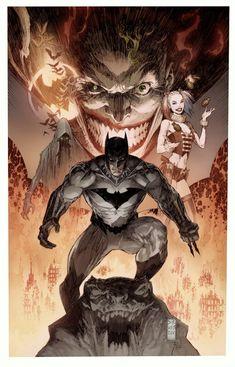 Batman and Joker Join Forces in New DC Comic - Comic-Con 2018 - Geek Batman Dark, Batman The Dark Knight, Batman Arkham, Batman Vs, Superman, Batman Poster, Batman Artwork, Batman Wallpaper, Joker Comic