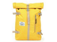 Poler Stuff Rolltop in Mustard - Kinoko Cycles Mustard, Bike Clothing, Backpacks, Cool Stuff, Bags, Handbags, Cycling Outfits, Taschen, Purse