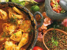 Réunion cuisine - carri poulet
