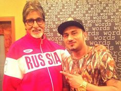 Amitabh Bachchan & Honey Singh rap together