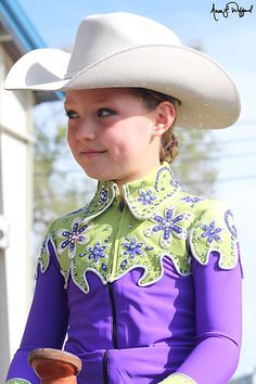 Girls Youth Custom Western Show Outfit | eBay