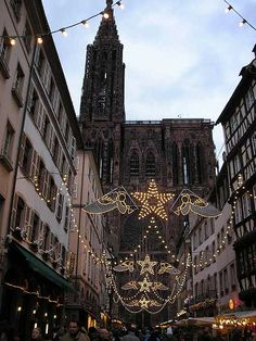 Strasbourg Cathedral from Place Gutenberg