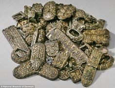Hoard: Many finely worked pieces were buried as an apparent 'insurance policy' in times of crisis