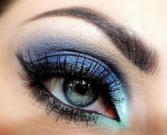 To cover the dark under eye circles, apply three dots of concealer under each eye. First star...