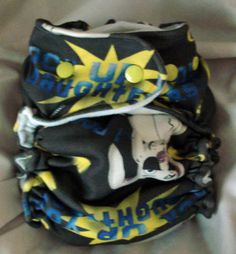 Free One Size Cloth Diaper Pattern!