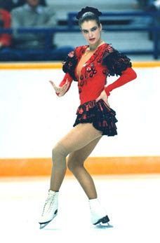Katarina Witt's performance was bad azz! Olympic Icons, Olympic Sports, Olympic Games, Witt Katarina, Inline, Katharina Witt, 1988 Olympics, Stars On Ice, Ice Girls