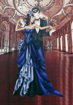 Bal Masque by Clavelle on DeviantArt Anna Karenina, Legend Of Korra, Masquerade, Avatar, Scene, Relationship, Movies, Nerd, Dresses