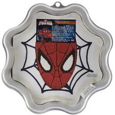 Turn any 2-layer cake mix into an Amazing Spiderman Cake that will wow your guests! This cake pan comes with instructions so you're sure to make the best cake possible.