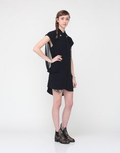 Sheer Delight Shirt Dress