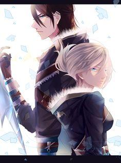 Riven and Talon 0 by Yosukii on DeviantArt League Of Legends Talon, Xayah And Rakan, Sweet Couple, Fantasy Girl, Attack On Titan, Mythology, Creatures, Fan Art, Cartoon