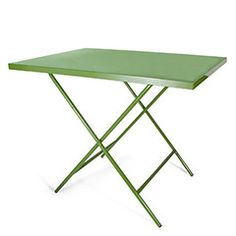 Powder-Coated Steel Folding Table