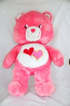 27 plush Love a lot Care Bear Plush Dolls, Doll Toys, Care Bears Plush, Monsters Inc Boo, 80s Stuff, Character Aesthetic, Childhood Toys, Packaging Ideas, Lilo And Stitch