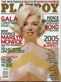 Playboy December 2005 Marilyn Monroe on Cover