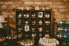 Wedding cupcake table!