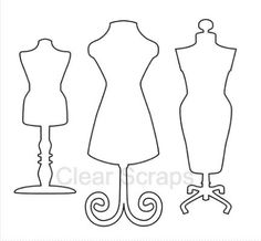 Garderobenständer clipart  Maniquí vintage | Showroom | Pinterest | Tatoo and Dress form