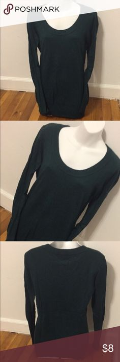 H&M Navy Blue Sweater Navy blue H&M sweater. Size medium, but it's very formfitting especially in the sleeves. So fits more like an xsmall- small. I SHIP SAME DAY OF ORDER ON ALL ITEMS! H&M Sweaters