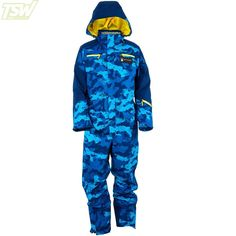Spyder Mens USST Flight Suit - Blue Camo Ski Racing, Ski Wear, Blue Camo, Snow Suit, Perfect Body, Looks Great, Overalls, Suits, Hoodies
