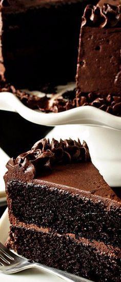 The Best Chocolate Cake | My Baking Addiction http://ibaketoday.blogspot.com
