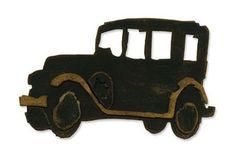 Tim Holtz Sizzix Die OLD JALOPY Car Bigz Alterations 657185*