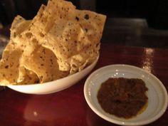 Papadum Recipe: - 8 cups Lentil Flour; - 1 tsp Black Pepper; - 1 tsp Cumin; - 1/2 tsp Salt; - 1/4 cup Water; - Oil.