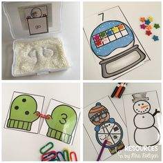 January Morning Work Tubs   Help your Kindergarten students have meaningful activities to work on each morning. You get sight words, ten frames, counting, matching, build an igloo, word families, missing numbers, patterns, transferring, drawing animals, food sort, missing letters, roll & cover, measurement, 2D shapes, and more! Great for your kinder students in January, winter, or anytime you want some snowy fun.