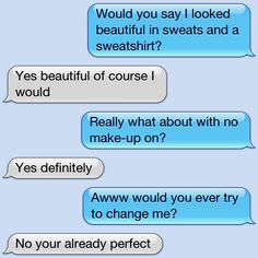 This is so sweet wish a boy would text me something this sweet!