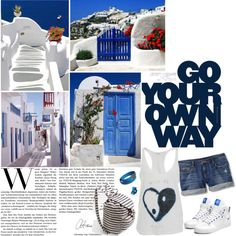 Greek Islands by purplehooligan on Polyvore