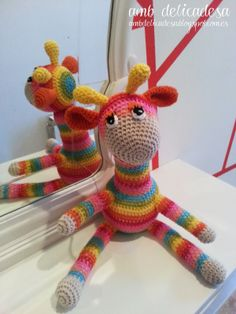 Cloti the crochet girafe