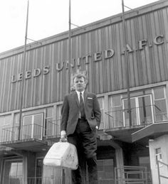 Photograph of Leeds Utd captain Billy Bremner coming out of training at Elland Road, 11 March 1967 Leeds United Football, Leeds United Fc, Football Stadiums, Football Team, The Damned United, Bolton Wanderers, Leeds City, Retro Football, Sports