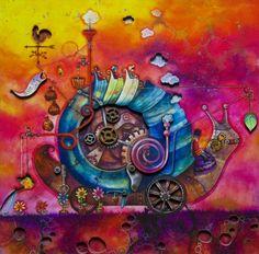 Gastropod by Kerry Darlington