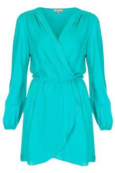 **Long Sleeve Wrap Dress by Love