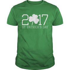 The official 2017 st patricks day shirt