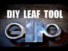 Blacksmith Leaf Jig: Blacksmith Jig for Forged Leaves - YouTube