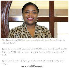 Asecu Megan Stewart  Employee Profile    Profile