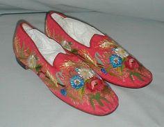 Men's Slippers Mid 19th Century