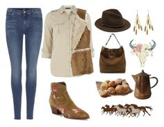 """""""Cowgirl🐴"""" by valenciamelis ❤ liked on Polyvore featuring 7 For All Mankind, Dorothy Perkins, Hollister Co., Ash, J.W. Anderson, rag & bone, WALL and Aurélie Bidermann"""