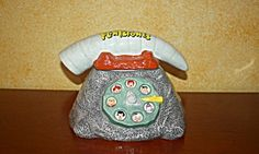 Ok, this might have been made recently but, hey, it's the Flintstones and they are vintage! Flintstone Telephone Cookie Jar