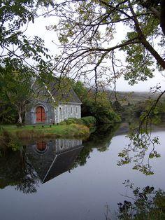 St. Finbarr's Oratory, Gougane Barra, County Cork, Ireland.