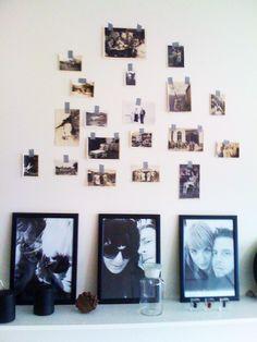 Washi tape photo hanger!