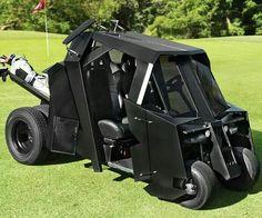 Batcart! #golf