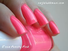 Essie - Punchy Pink // Essie really excels at taking fun colors and making them adult-friendly. Grown-up neon...bring it on.